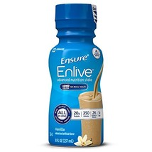 Ensure Enlive Advanced Nutrition Shake with 20g of High-Quality protein, Meal Re