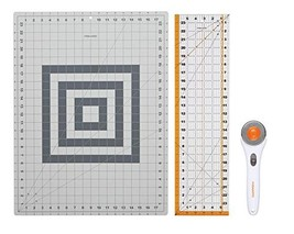 Fiskars 95237097J Rotary Sewing Cutting Set, 3 Piece (3 Piece Set) - $40.88