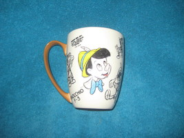 DISNEY STORE Pinocchio Coffee or Tea Cup. Brand New. Genuine. - $18.69