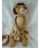 Kids Back pack Harness Safety Walking Leash by Gold Bug Lion plush - $7.91