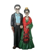 YTC Summit International Day of the Dead Skeleton Frida Kahlo and Diego ... - $29.69