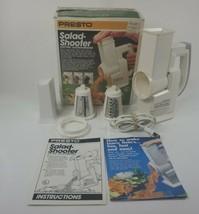 Vintage Presto Salad Shooter Electric Slicer Shredder Tested Preowned  - $17.81