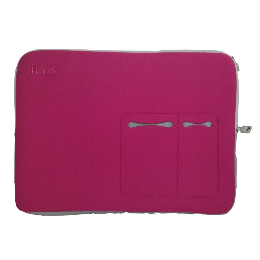 iLuv 17 Macbook Pro Sleeve - Pink
