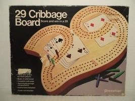 29 Cribbage Board 1983 By Pressman: Complete  - $24.74