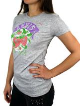 NEW NWT LEVI'S WOMEN'S PREMIUM CLASSIC GRAPHIC COTTON T-SHIRT SHIRT TEE GRAY image 2