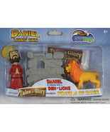 Daniel the Lion's Den Action Figures Tales of Glory NEW 3 Set Story Bibl... - $12.76