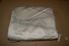 Hotel Collection Full Queen Duvet Cover Tan Beige Geometric - $85.50