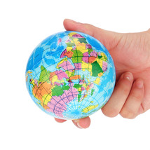 SHIP FROM US, Squishy Squeeze World Map Foam Ball Globe Planet Earth Bal... - $6.99