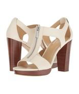 MICHAEL Michael Kors Berkley T-Strap Dress Sandals Ecru Mult Sz - $79.99