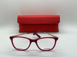 Authentic Guess Gu 2566 075 Berry 49-17-135MM Eyeglasses /CASE+ Cloth Petite Fit - $31.98