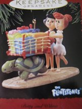 Hallmark Keepsake Ornament The Flintstones 1995 Betty and Wilma - $14.75