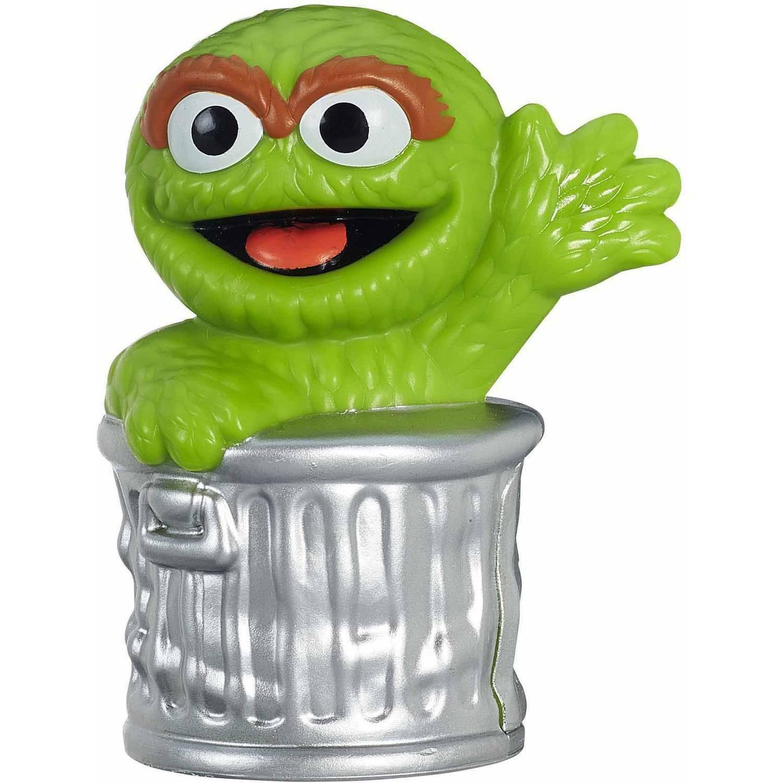 "Playskool Sesame Street Oscar Sesame Street Friends 3"" Figure New In Package - $6.88"