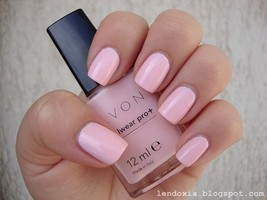 Avon True Color Pro+ Nail Enamel *PASTEL PINK* Nail Polish - Strengthens... - $3.95