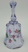 Vintage Fenton Art Hand Painted Bell Signed - $14.85