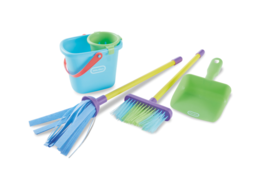 Little Tikes Cleaning Set Pretend Role Play Toys and Sets  4 piece clean... - $24.89