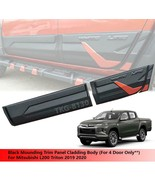 Black Moulding Trim Panel Cladding Body For Mitsubishi L200 Triton 2019 ... - $246.22