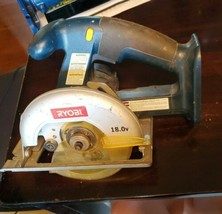 "Ryobi 5 1/2"" Cordless Circular 18 Volt Saw R10633 - Tool Only WORKING RO... - $29.69"
