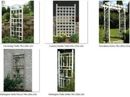 Plant Trellises PVC Vinyl Will Not Crack, Fade, Peel or Discolor Made in... - $107.60+