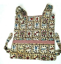 Chair Car Accessory Bag Holder Handmade Birdhouse Pattern with Pockets - $23.00