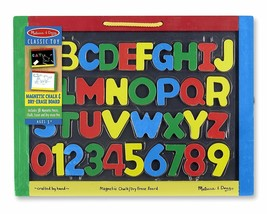 Melissa & Doug Magnetic Chalkboard and Dry-Erase Board - New / Sealed - $24.73