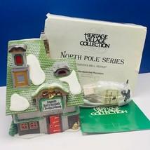 Department 56 Heritage cottage village Christmas North Pole Santa Bell r... - $43.33