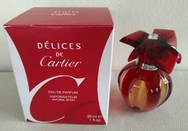 Cartier Delices De Cartier Perfume 1.0 Oz Eau De Parfum Spray image 1