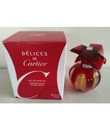 Cartier Delices De Cartier Perfume 1.0 Oz Eau De Parfum Spray - $199.98