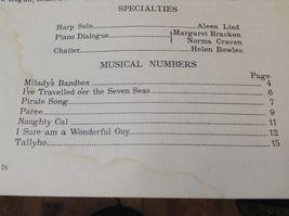 Milady's Bandbox Vintage Musicbook w Piano Sheet Music image 5
