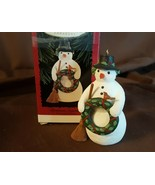Hallmark Ornament 1996 CHRISTMAS SNOWMAN - New In Box - $5.00