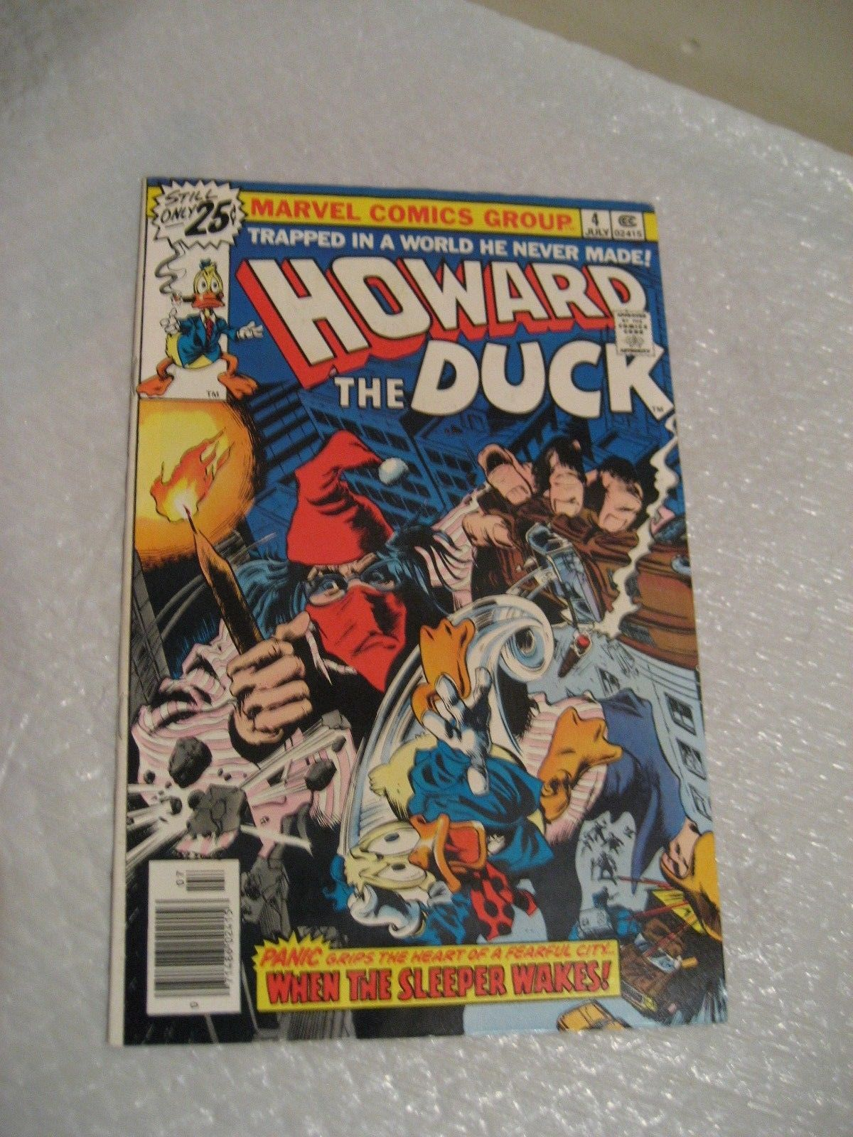 Primary image for HOWARD THE DUCK vol 1 #4 marvel comic book VF cond, 1976