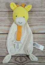 Carter's Child Of Mine Giraffe Lovey Snuggler Pacifier Holder One Size Yellow  - $19.39