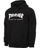 Thrasher Skate Mag Logo Hooded Sweatshirt Black X-Large - $68.12