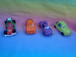 Disney Pixar Cars Miniature Plastic 4 Different Figures - $2.92