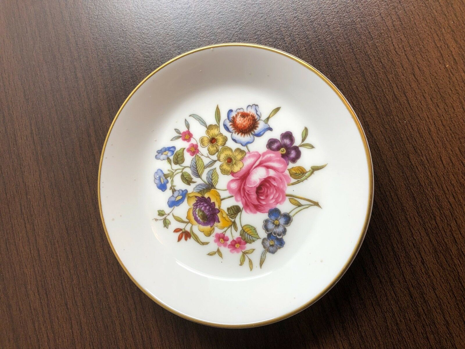 Vintage Royal Worcester Fine Bona China Saucer Side Plate