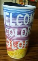 Starbucks Welcome To Colorful Colorado Ceramic Tumbler Coffee Mug 12oz T... - $29.02
