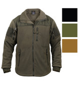 Spec Ops Tactical Fleece Jacket Full Zip Military Army Uniform Sports To... - $58.99+