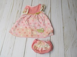 Y Replacement Luvabella Baby Doll Pink Dress Outfit Clothes Spin Master Read! - $14.84