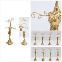 Luxury Golden Coating Jewelry Display Stand - Exquisite Princess of Retr... - €47,59 EUR