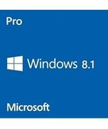 Windows 8.1 Pro Professional 32/64-Bit Full Retail Edition Full Edition ... - $9.99