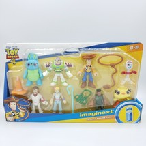 Toy Story 4 Fisher Price Imaginext Deluxe Figure Pack New Woody Buzz Bo ... - $16.82