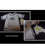 Koala Baby Boys Newborn Swim Shirt NWT WAVES White Short Sleeves UV Prot... - $10.88
