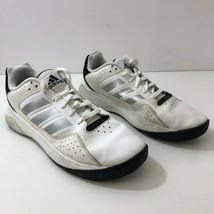 ADIDAS Cloudfoam Ilation Mid Men's Leather Basketball Shoes Wht AQ1376 M... - $25.07