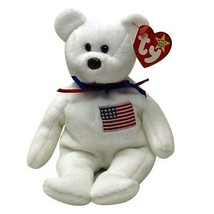 Libearty the USA Bear Ty Beanie Baby MWMT Retired Collectible - $19.75