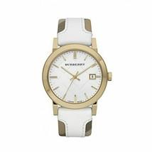 Burberry BU9015 Heymarket Gold Swiss Made Womens Watch - $366.90 CAD