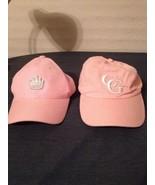 Pair Of Pink Princess Crown Cg Baseball Ball Hat Cap (hb7) - $11.75