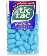 tic tac Powermint Singles, 1 Ounce (Pack of 12) - $23.29 CAD