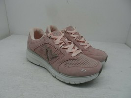Vionic Women's Thrill Lace-Up Active Sneakers Suede Pink Size 5M - $85.49