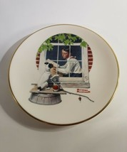 Norman Rockwell Daydreaming Gorham China Collector Plate Danbury Mint 1981 - $5.00