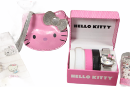 Large Sanrio Hello Kitty Assorted Jewelry Accessories Lot Watch Necklace Bank image 10