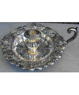 Towle Silverplate Candle Holder w Handle - $42.00